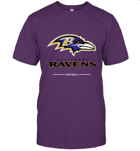 jykt mens baltimore ravens nfl pro line black team lockup t shirt jersey t shirt 60 front team purple