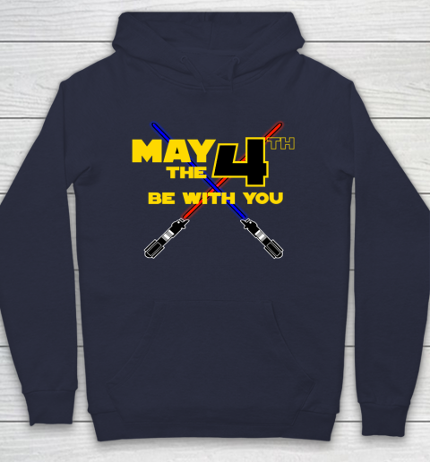Star Wars Shirt May the Fourth Be With You Lightsaber Hoodie 2
