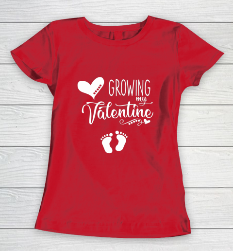 Growing my Valentine Tshirt for Wife Women's T-Shirt 9