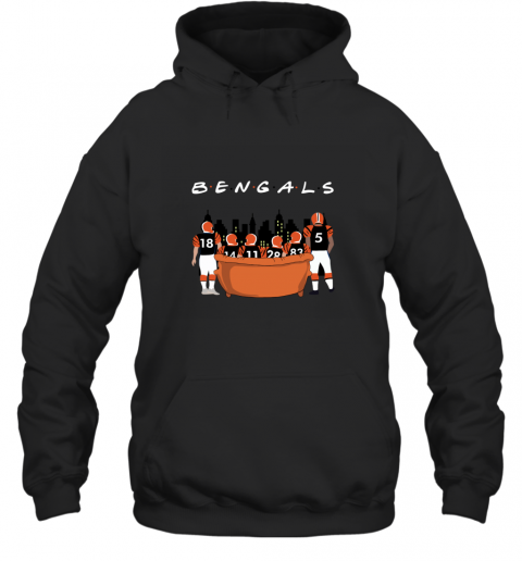 The Cleveland Browns Together F.R.I.E.N.D.S NFL Hoodie