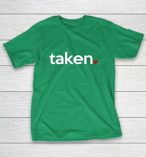 Taken Sorry I m Taken Gift for Valentine 2021 Couples T-Shirt 5