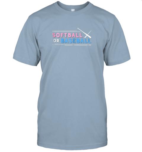 b0vz softball or baseball shirt sports gender reveal jersey t shirt 60 front light blue