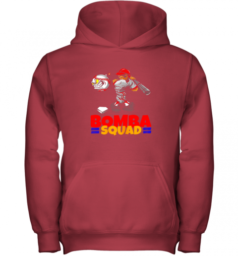 f7h4 bomba squad twins shirt for men women baseball minnesota youth hoodie 43 front red