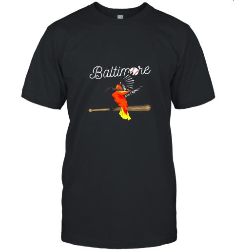 Baltimore Oriole Baseball Shirt Original Bird Design Unisex Jersey Tee