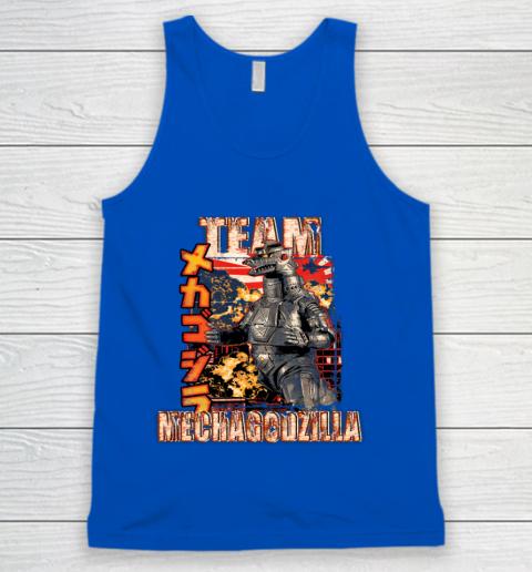 Team Mechagodzilla Japan Vintage Style Tank Top 4