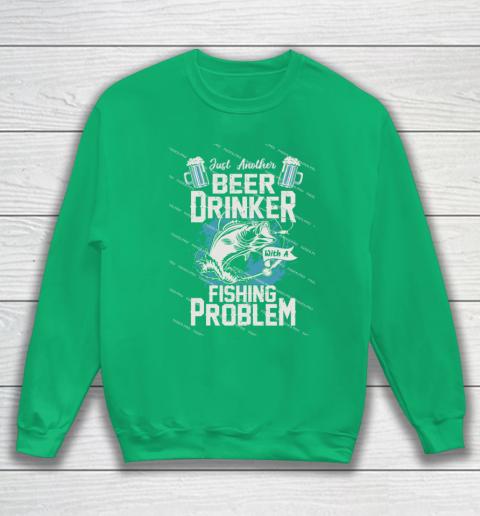 Beer Lover Funny Shirt Fishing ANd Beer Sweatshirt 5