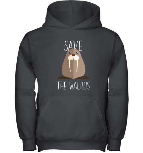 Walrus - Save the walrus Youth Hoodie