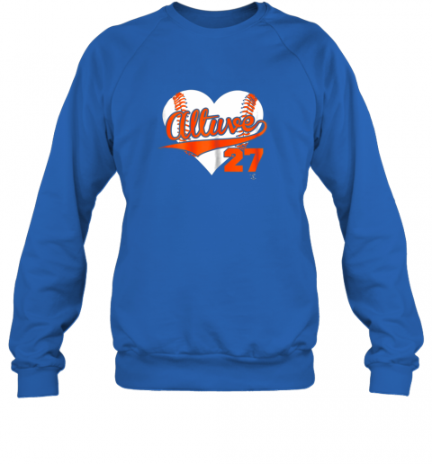 jzqw jose altuve baseball heart shirtapparel sweatshirt 35 front royal
