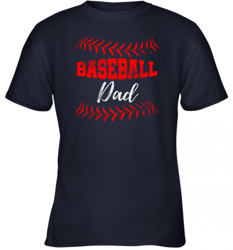 qgqx mens baseball inspired dad fathers day youth t shirt 26 front navy