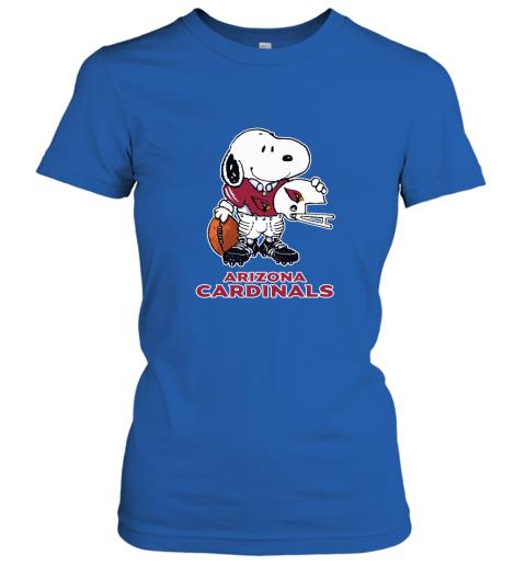 Snoopy A Strong And Proud Arizona Cardinals Player NFL Women's T-Shirt
