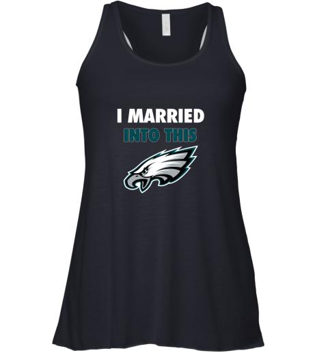 otjp i married into this philadelphia eagles football nfl flowy tank 32 front midnight