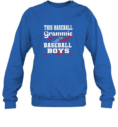 91nx this baseball grammie loves her baseball boys sweatshirt 35 front royal