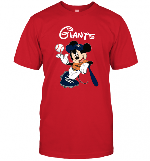 hpwo baseball mickey team san francisco giants jersey t shirt 60 front red