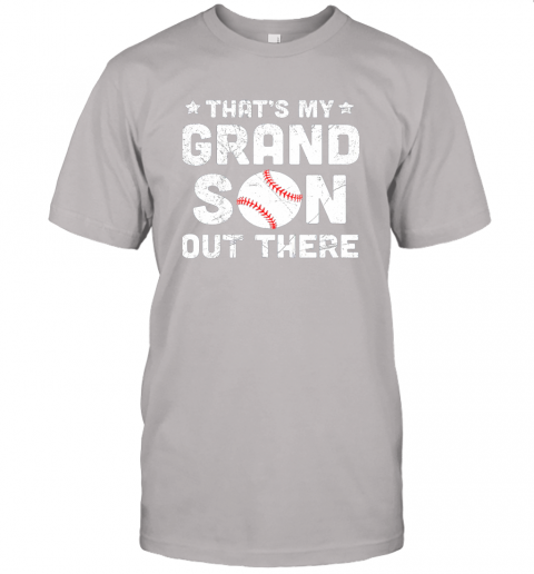 wclz grandma that39 s my grandson out there baseball jersey t shirt 60 front ash