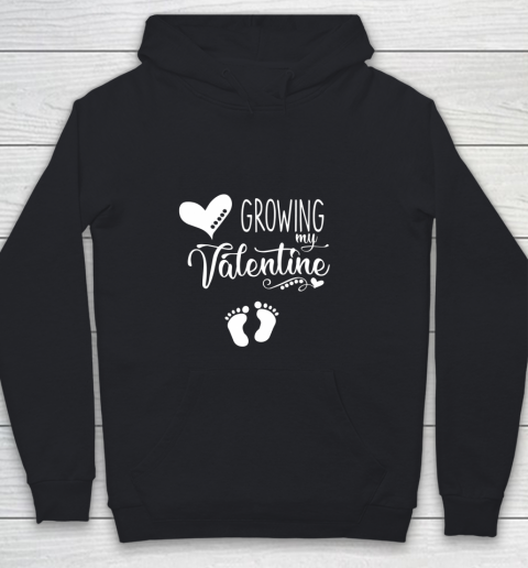 Growing my Valentine Tshirt for Wife Youth Hoodie