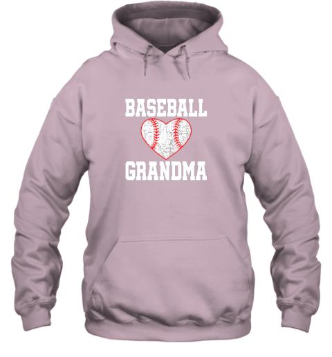 q4mx vintage baseball grandma funny gift hoodie 23 front light pink
