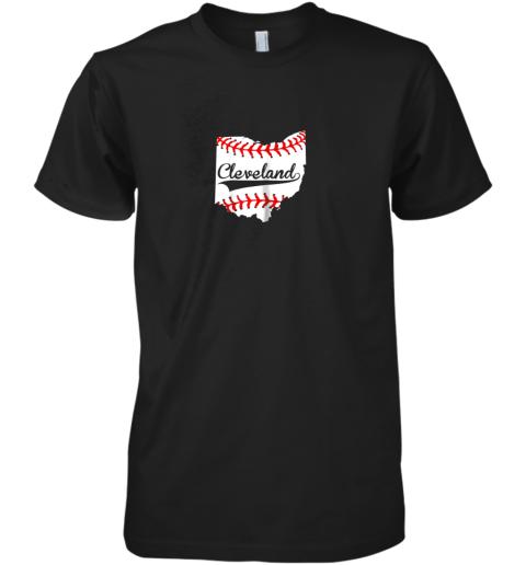 Cleveland Ohio 216 Baseball Premium Men's T-Shirt