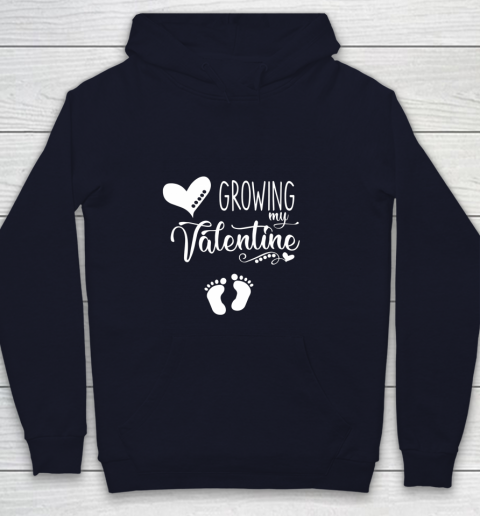 Growing my Valentine Tshirt for Wife Youth Hoodie 2
