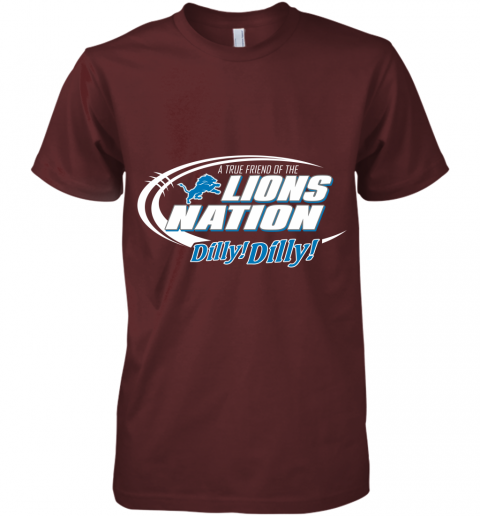 kbug a true friend of the lions nation premium guys tee 5 front maroon