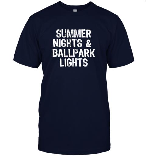 8qqh summer nights and ballpark lights baseball softball jersey t shirt 60 front navy