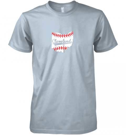 fykr cleveland ohio 216 baseball premium guys tee 5 front light blue