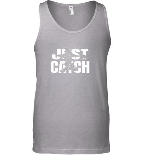 pdxx just catch baseball catchers long sleeve shirt baseballisms unisex tank 17 front sport grey