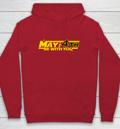 Star Wars Shirt MAY THE 4TH BE WITH YOU Funny Geek Nerd Youth Hoodie 7