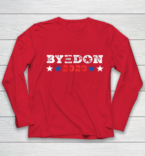 ByeDon Shirt 2020 Joe Biden 2020 American Election Bye Don Youth Long Sleeve 8