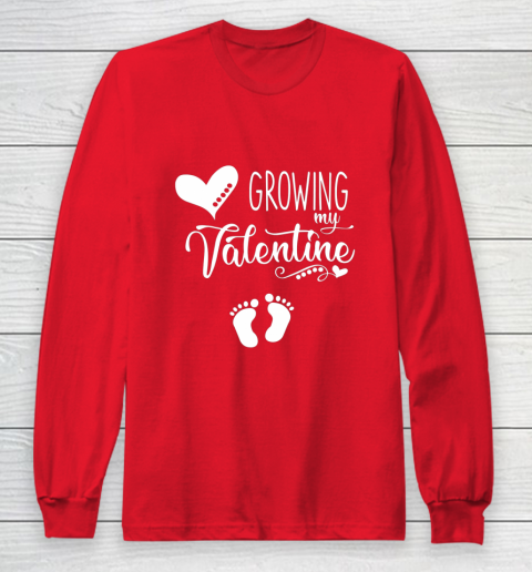 Growing my Valentine Tshirt for Wife Long Sleeve T-Shirt 7