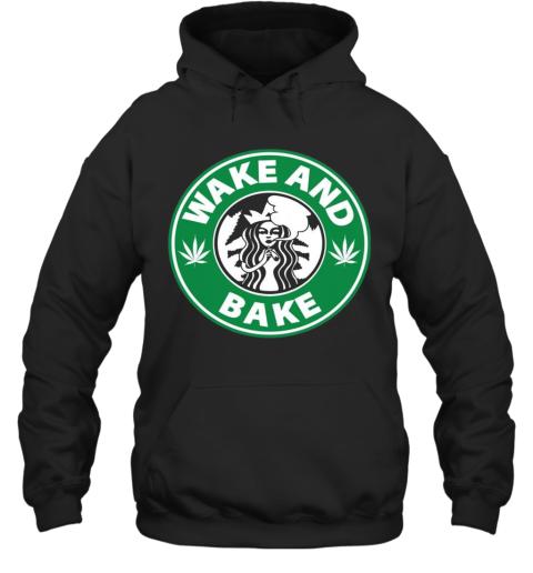 Star Buck Wake And Bake Cannabis Hoodie