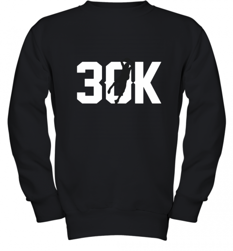 Dirk 30k Mavericks Dirk Nowitzki Record Youth Sweatshirt