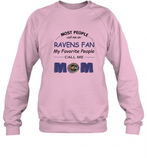 2wxw most people call me baltimore ravens fan football mom sweatshirt 35 front light pink