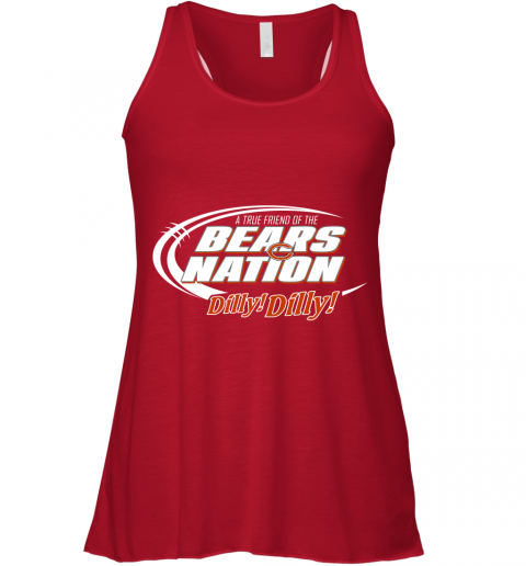 hj18 a true friend of the bears nation flowy tank 32 front red