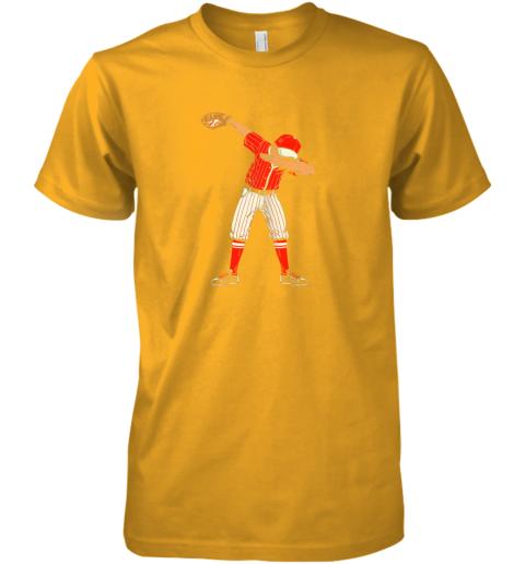 pipz dabbing baseball catcher gift shirt men boys kids bzr premium guys tee 5 front gold