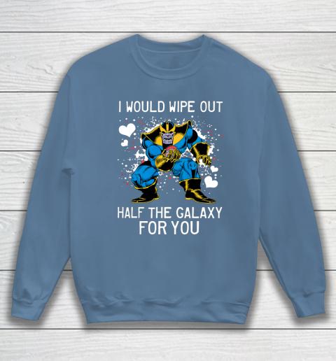 Marvel Thanos Half The Galaxy Valentine Graphic Sweatshirt 6