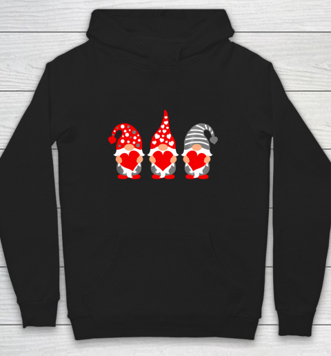 Gnomes Hearts Valentine Day Shirts For Couple Hoodie