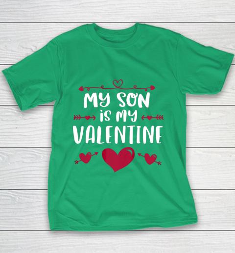 My Son Is My Valentine T Shirt Mom Dad Valentine s Day Youth T-Shirt 3