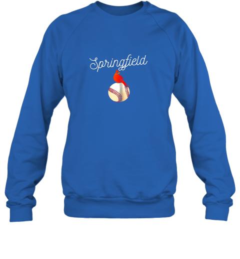r8pt springfield red cardinal shirt for baseball lovers sweatshirt 35 front royal
