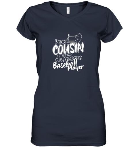 4ly4 cousin baseball shirt sports for men accessories women v neck t shirt 39 front navy