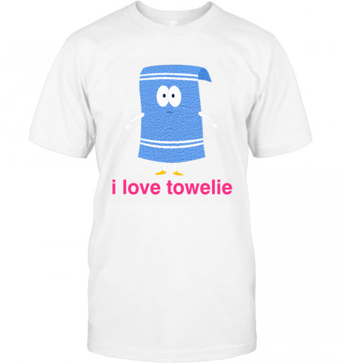 I LOVE TOWELIE PINK T-Shirt