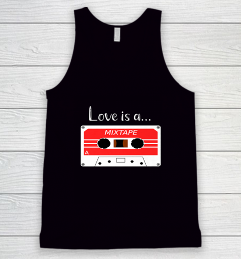 Love is a MixTape Retro Old School Valentine Tank Top