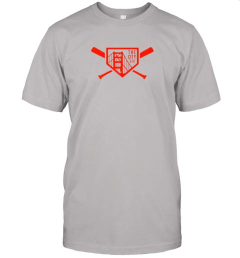 yuvv cool san francisco baseball the city bridge sfo jersey t shirt 60 front ash