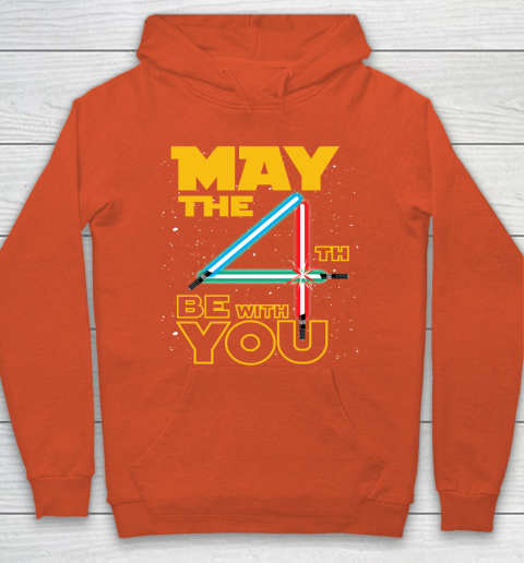 The 4th of May Be With You Galaxy Lightsaber Star Wars Hoodie 3