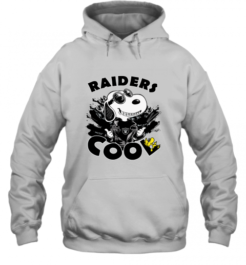 esum oakland raiders snoopy joe cool were awesome shirt hoodie 23 front white