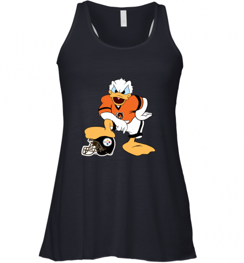 q71q you cannot win against the donald cincinnati bengals nfl flowy tank 32 front midnight