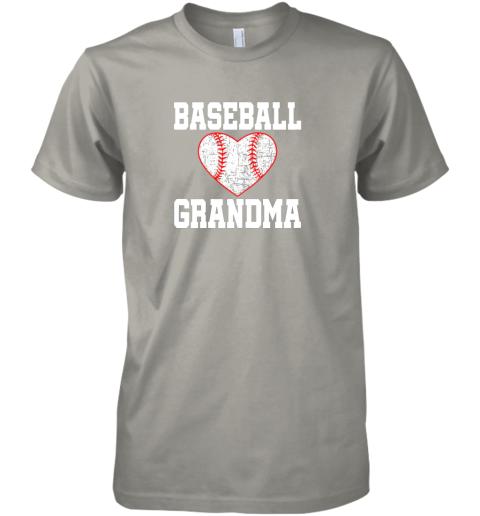 ryjq vintage baseball grandma funny gift premium guys tee 5 front light grey