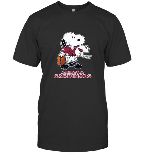 Snoopy A Strong And Proud Arizona Cardinals NFL T-Shirt