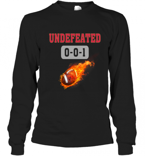 NFL HOUSTON TEXANS LOGO Undefeated Long Sleeve T-Shirt