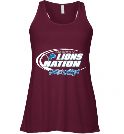 lvth a true friend of the lions nation flowy tank 32 front maroon
