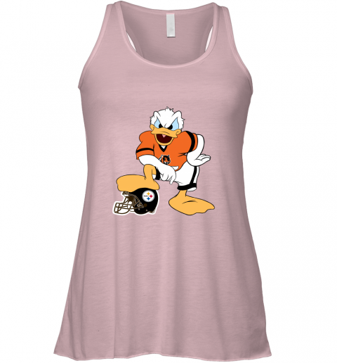 q71q you cannot win against the donald cincinnati bengals nfl flowy tank 32 front soft pink